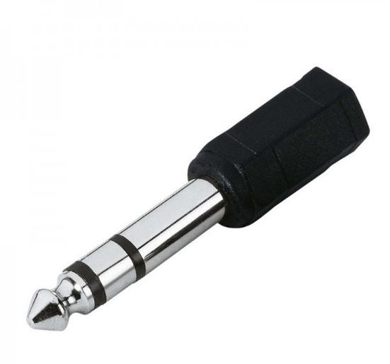 BRESSER Adattatore jackplug da 3.5mm a 6.3mm