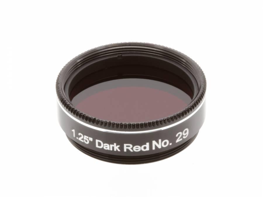 """Filtro EXPLORE SCIENTIFIC 1,25"""" Rosso scuro num.29"""
