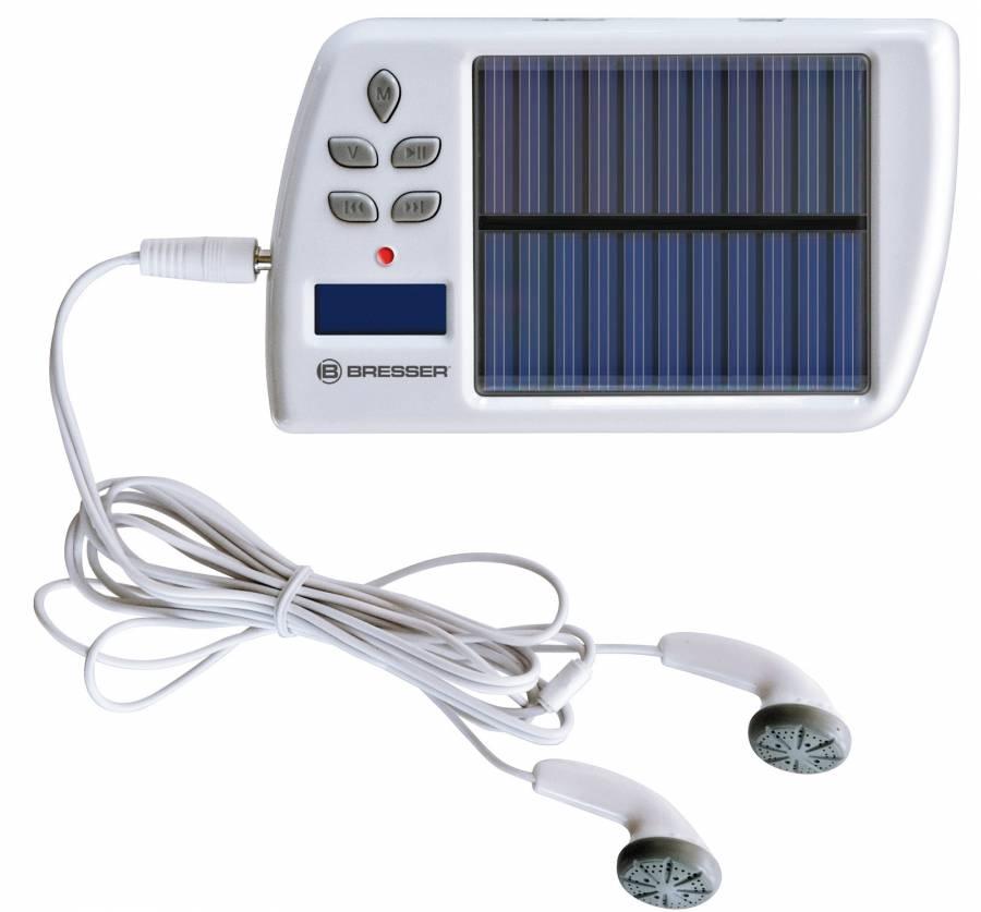 BRESSER Solar MP3/FM Caricabatteria