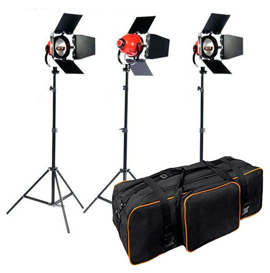 BRESSER SG-800 Foto/Video Light Set 5