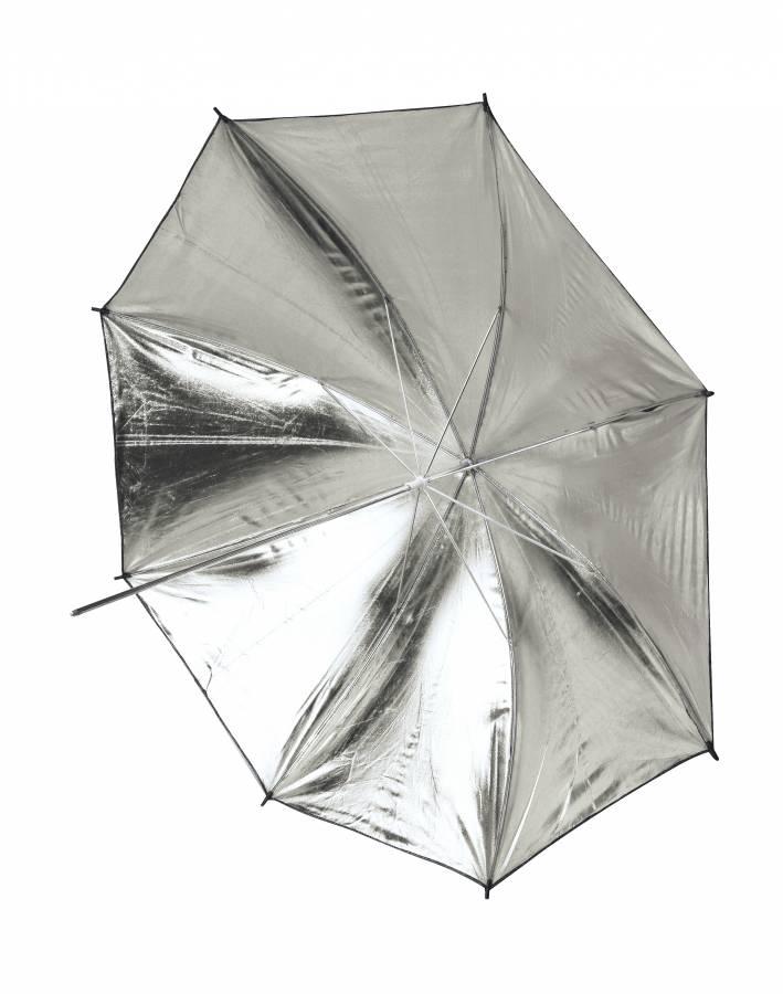 BRESSER SM-11 Reflection Umbrella white/black 101cm