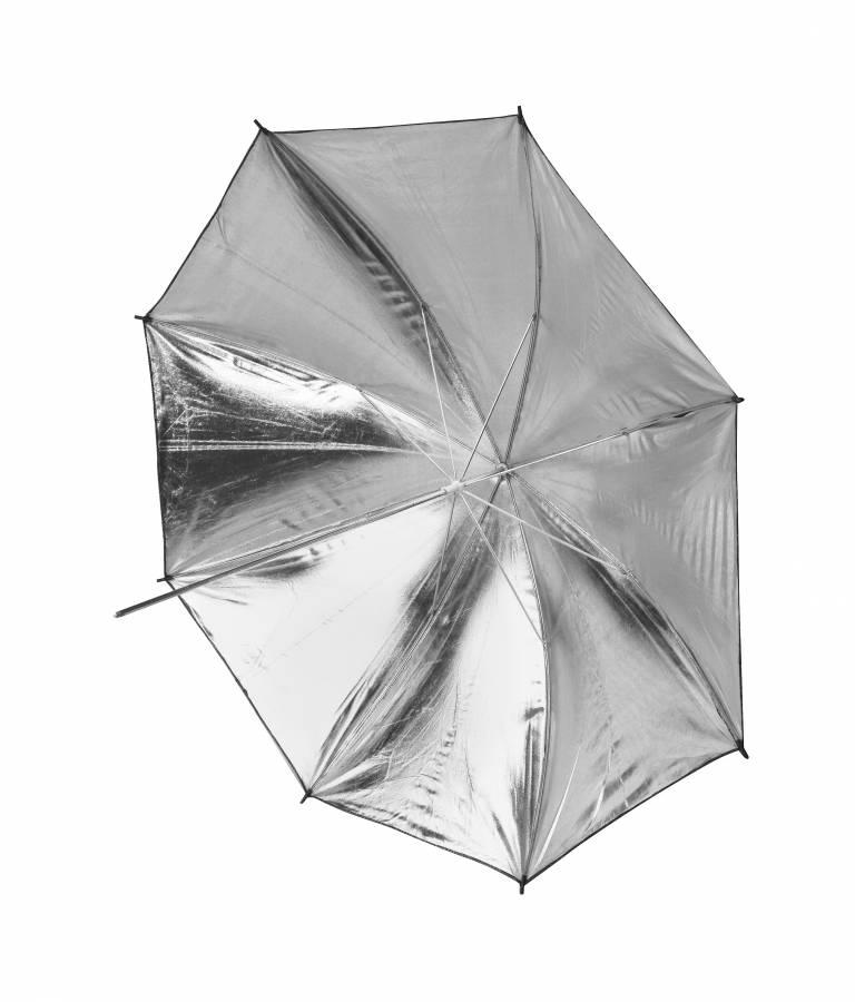 BRESSER SM-03 Parapluie réflecteur noir/argenté 101cm