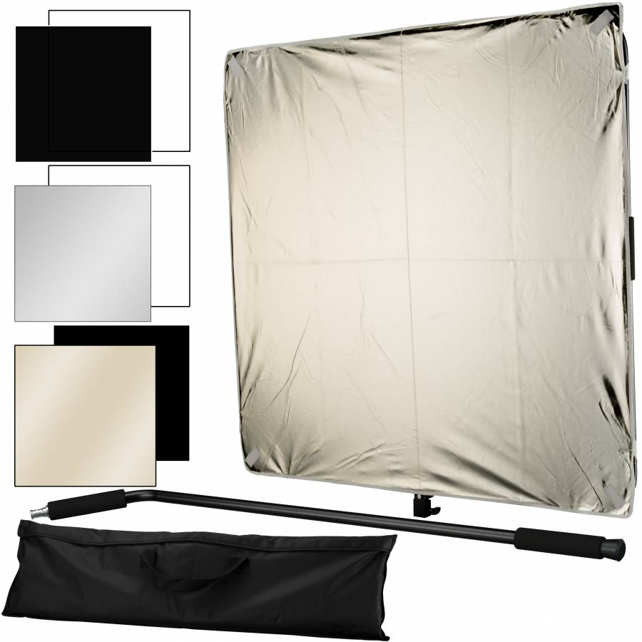 BRESSER BR-DP1000 6-in-1 Reflector/Diffusor Panel 100x100cm