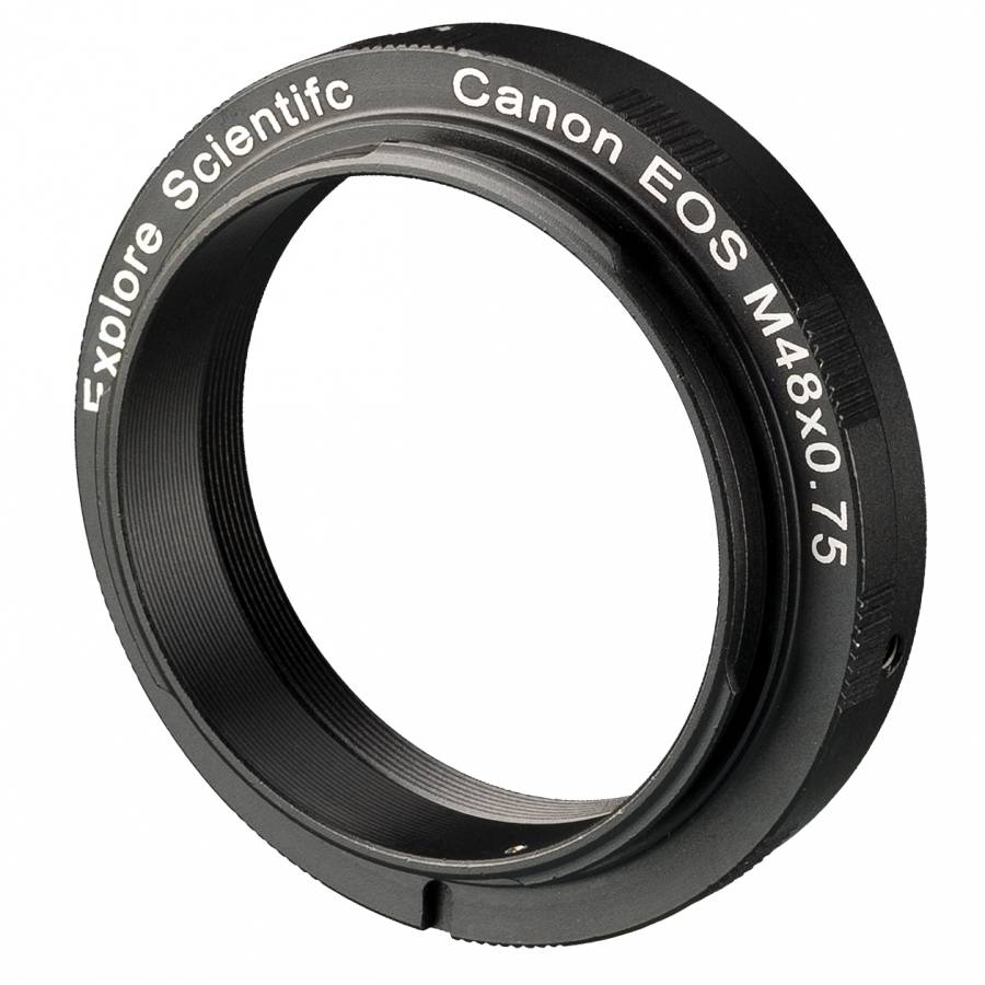 Bague d'Adaptation M48x0.75 EXPLORE SCIENTIFIC pour Appareil-photo Canon EOS