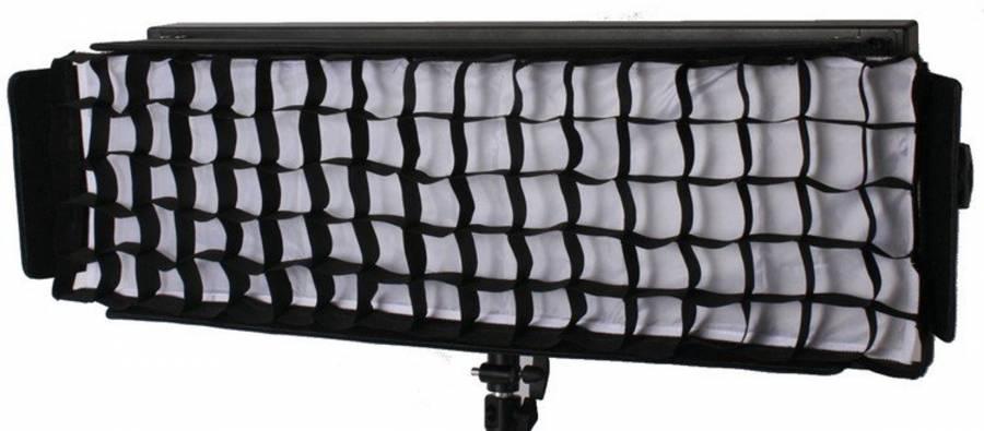 Softbox avec Grille Nid d'Abeille pour Lampe BRESSER LG-1200