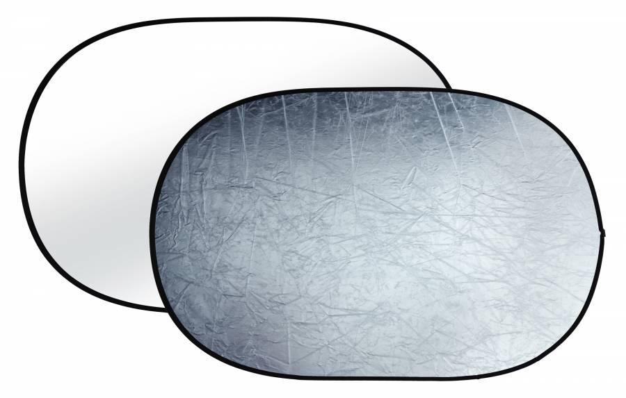 Riflettore pieghevole BRESSER TR-8 argento/bianco 120x180cm
