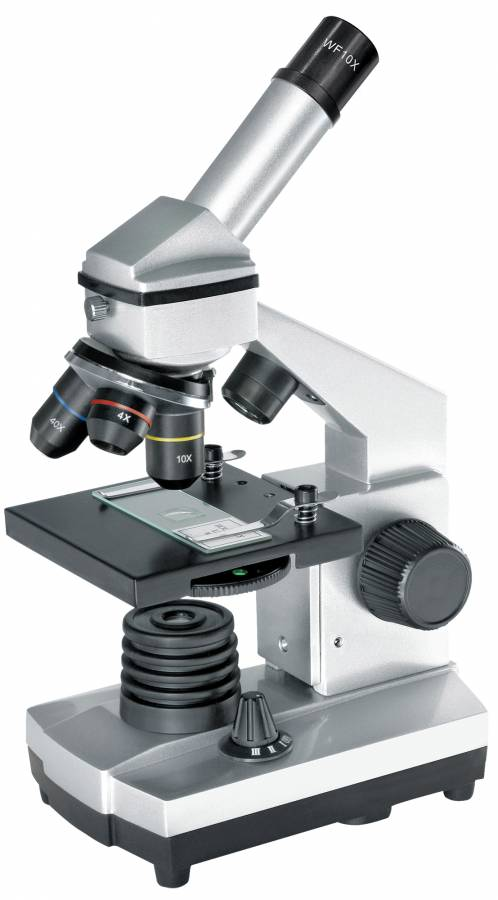 BRESSER JUNIOR Biolux CA 40x-1024x Microscope incl. Smartphone Holder