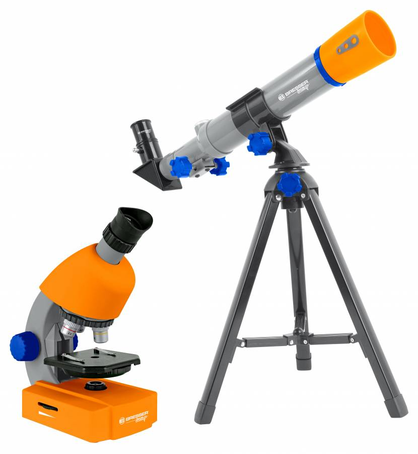 Kit microscope et télescope BRESSER Junior