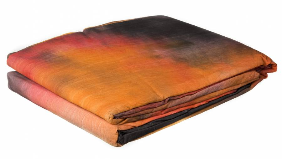 BRESSER BR-5138 Background Cloth 3x6m RED-BLACK HIGHLIGHT