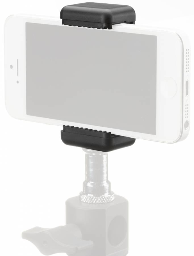 BRESSER BR-140 Smartphone Holder for Photo Tripods