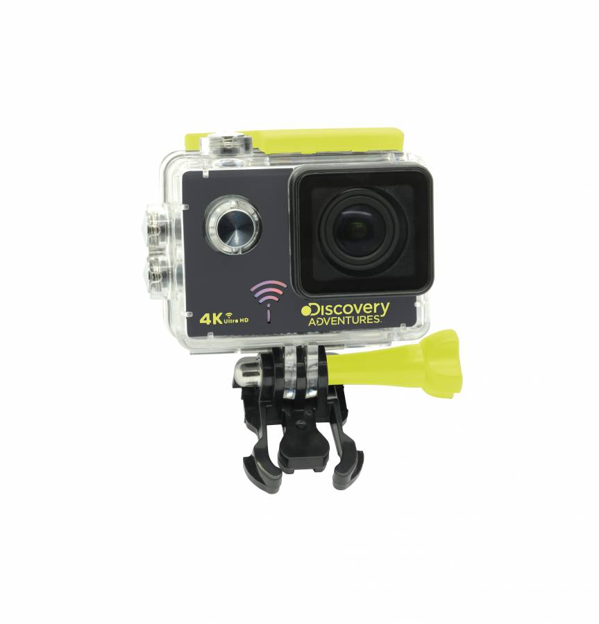 DISCOVERY ADVENTURES 4K Ultra-HD WIFI Action Camera Escape ...