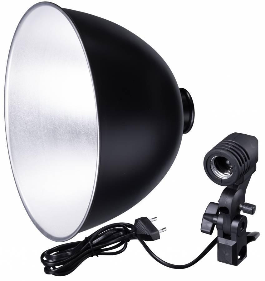 BRESSER MM-11 Lampenhalter 26cm für 1 Lampe