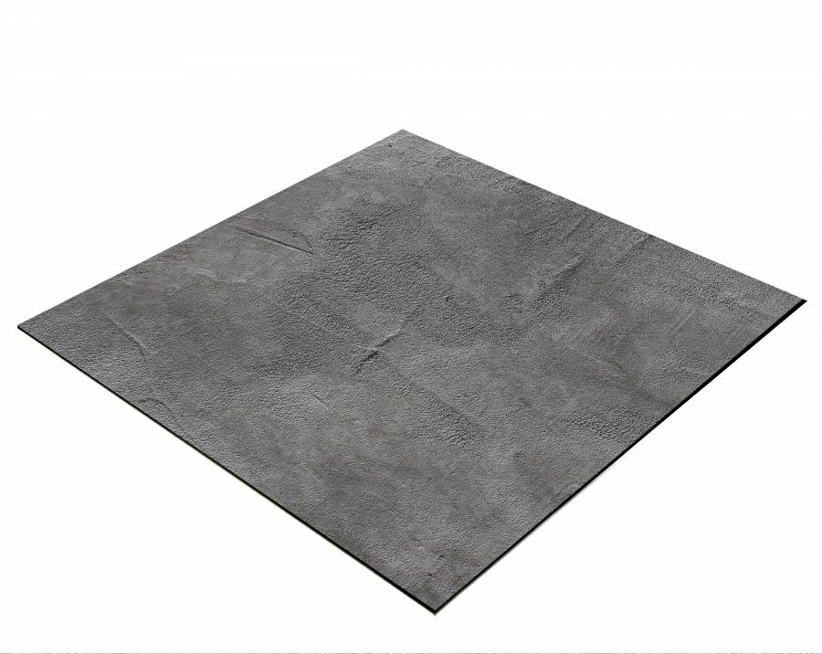 BRESSER Flat Lay Background for Tabletop Photography 40x40cm Concrete Look Dark Grey