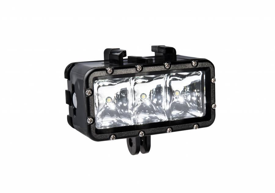 Luce LED BRESSER Action Cam