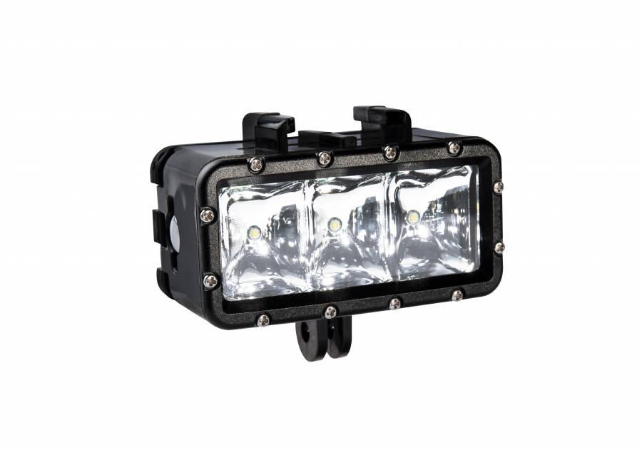 BRESSER foco LED para Action Cam