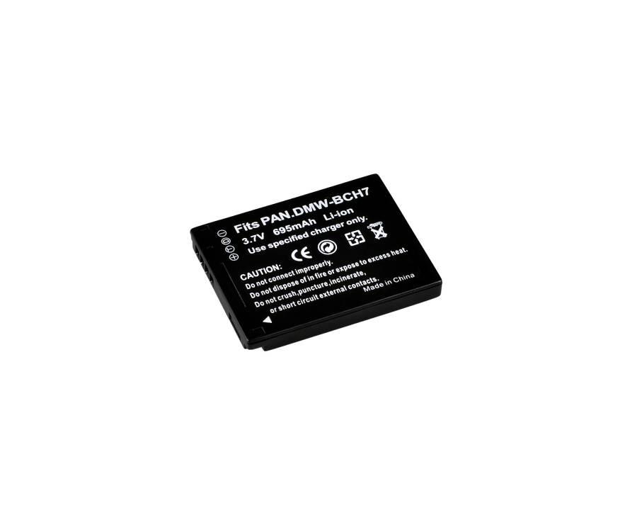 BRESSER Batteria ricaricabile agli ioni di litio / Batteria sostitutiva per Panasonic DMW-BCH7E