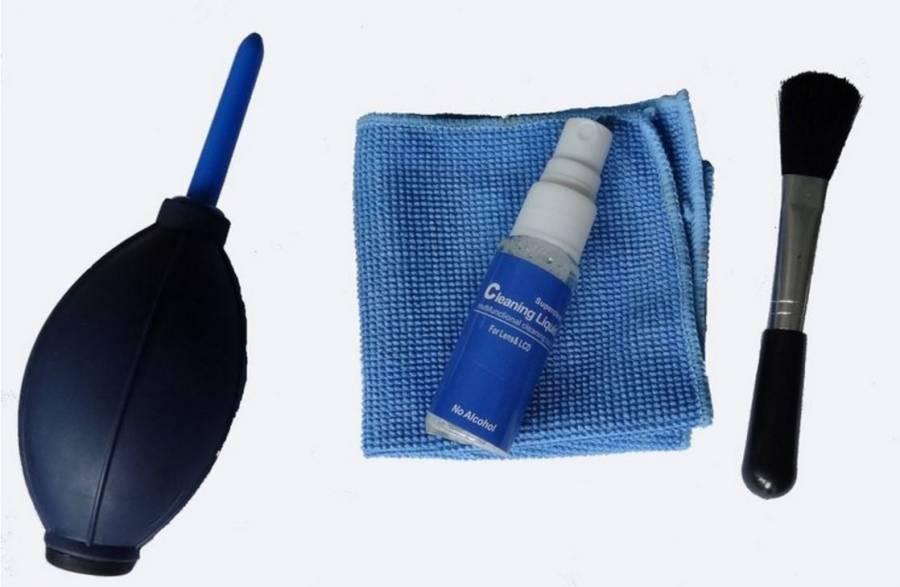 Kit de nettoyage pour lentilles BRESSER BR-LP20 4 pièces
