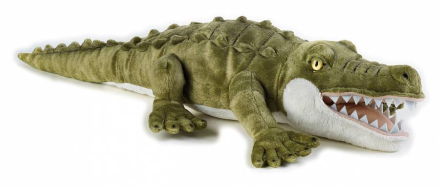 Crocodile en peluche NATIONAL GEOGRAPHIC
