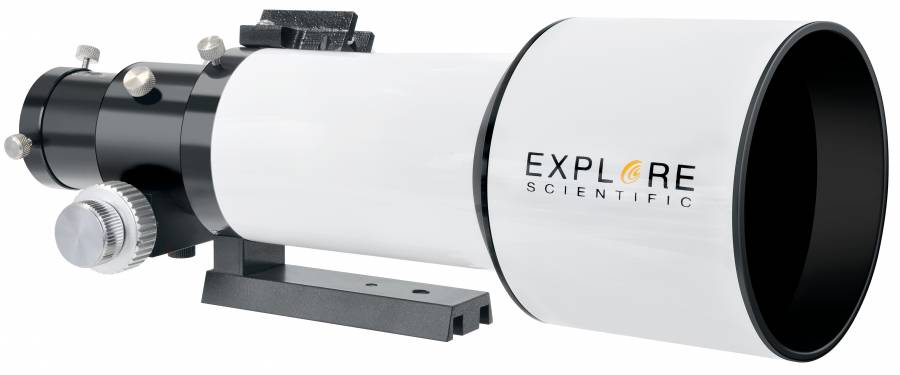 "EXPLORE SCIENTIFIC ED APO 80mm f/6 FCD-1 Alu 2"" R&P Fokussierer"