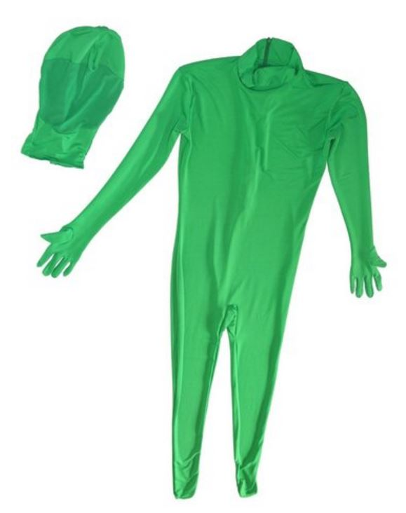 BRESSER BR-C2S Chromakey green two-piece Body Suit S