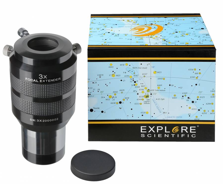 EXPLORE SCIENTIFIC convertitore di focale 3x 50,8mm/2""