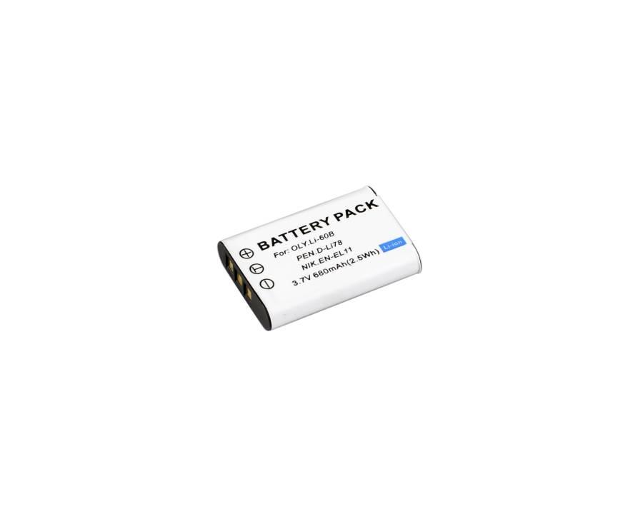 BRESSER Batterie de rechange Lithium-Ion pour Olympus LI-60B