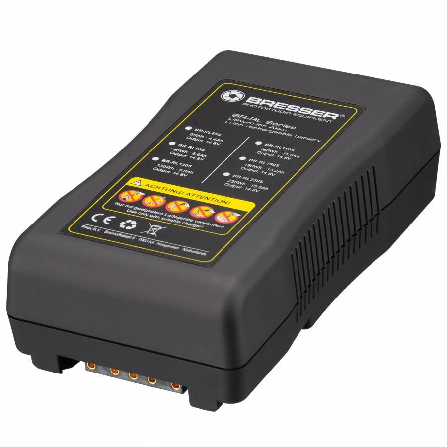BRESSER BR-RL160S Batteria V-Lock 160Wh 11.0Ah, 14.8V