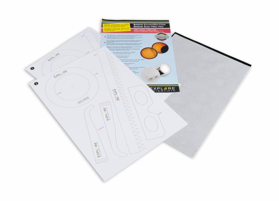 EXPLORE SCIENTIFIC Solarix Sonnenfilter Folie A4