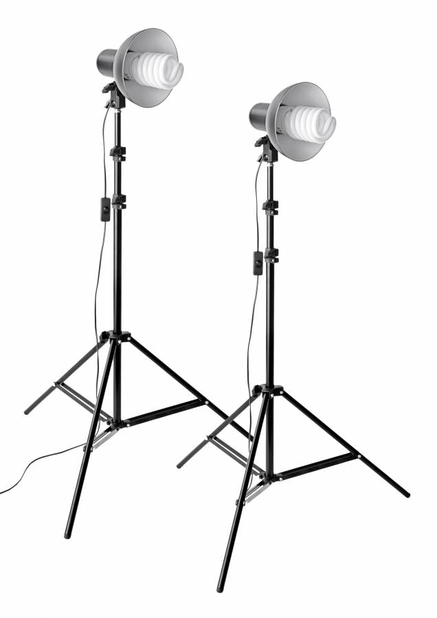 BRESSER MM-11 Foto/Video Tageslicht-Set 2A (2 x 85W )