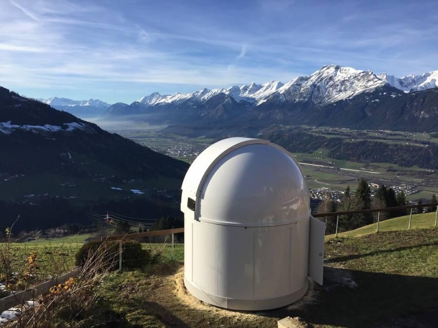 PULSAR 2.7m Observatorium - hohe Bauform