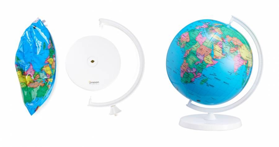 Oregon Scientific SmartGlobe™ Air - aufblasbarer Globus mit erweiterter Realität