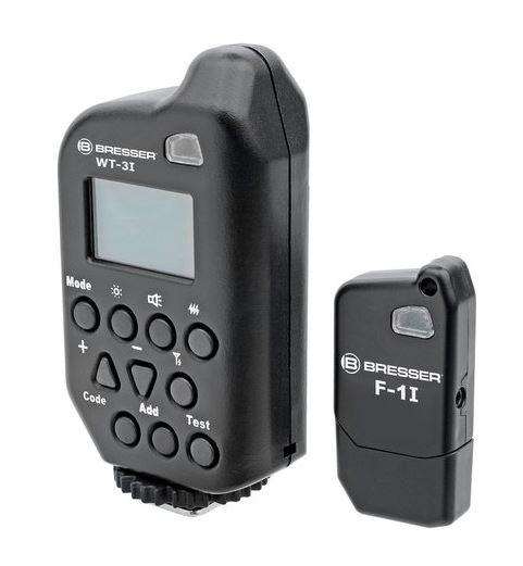 BRESSER WT-3i Canon Ensemble de déclenchement / contrôleur pour FM studio flashs