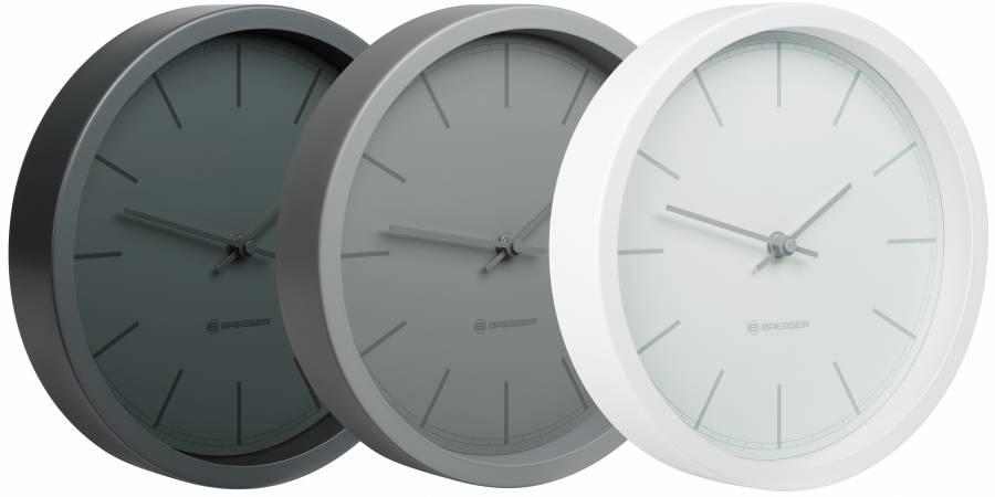 BRESSER MyTime RC Wall Clock 25cm