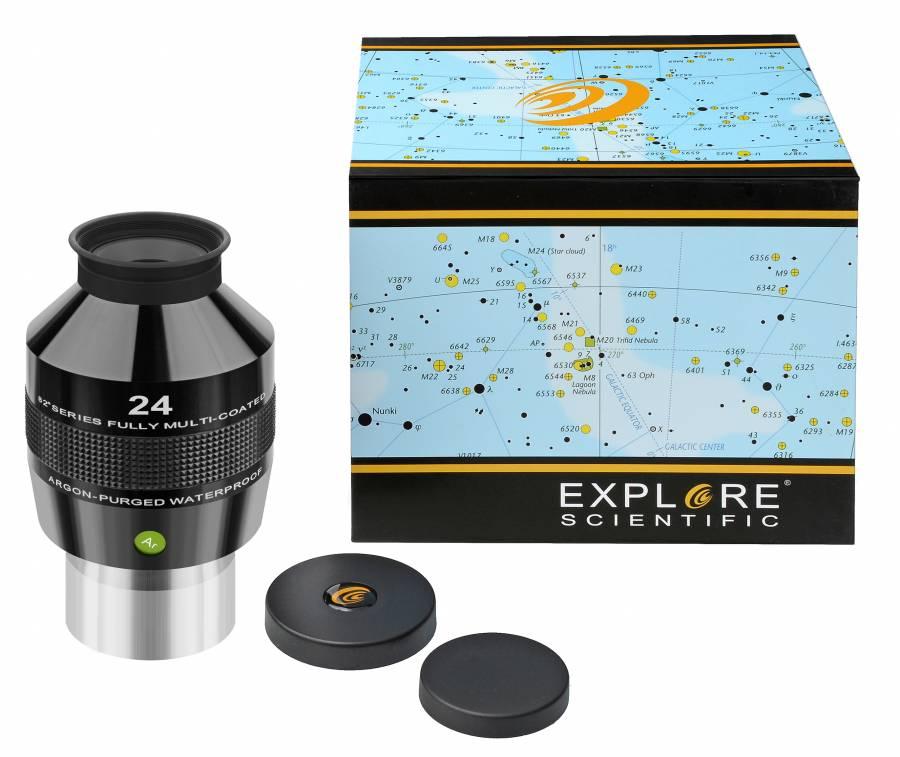 """EXPLORE SCIENTIFIC 82° Ar Ocular 24mm (2"""")"""