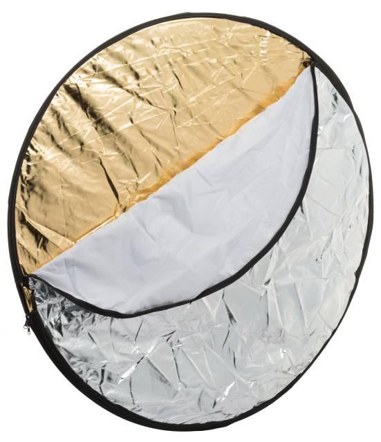 Bresser Photo Studio BR-TR2 7 in 1 Folding Reflector Foldable Background 90 x 120 cm