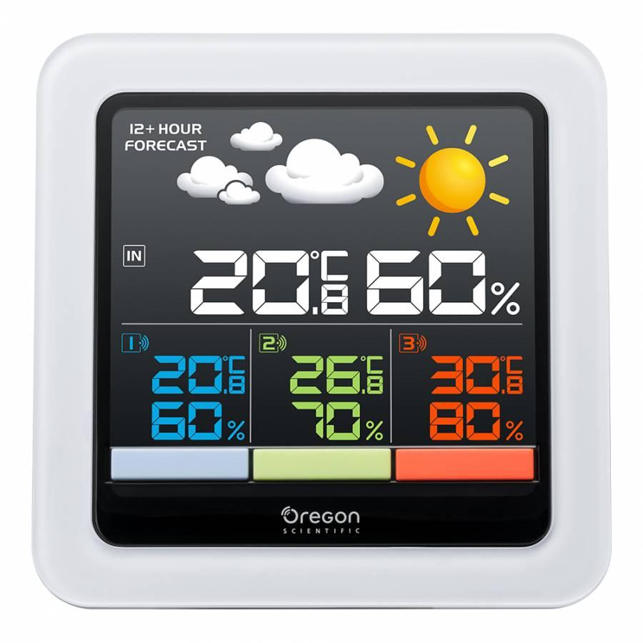 Oregon Scientific Color Lcd Multi Zone Weather Station