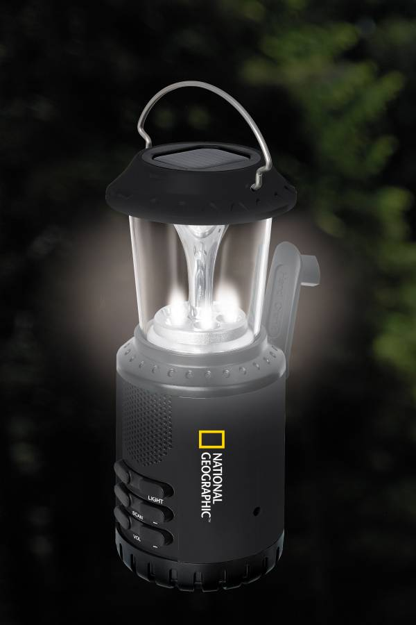 National Geographic Led Solar Lamp And Radio Bresser