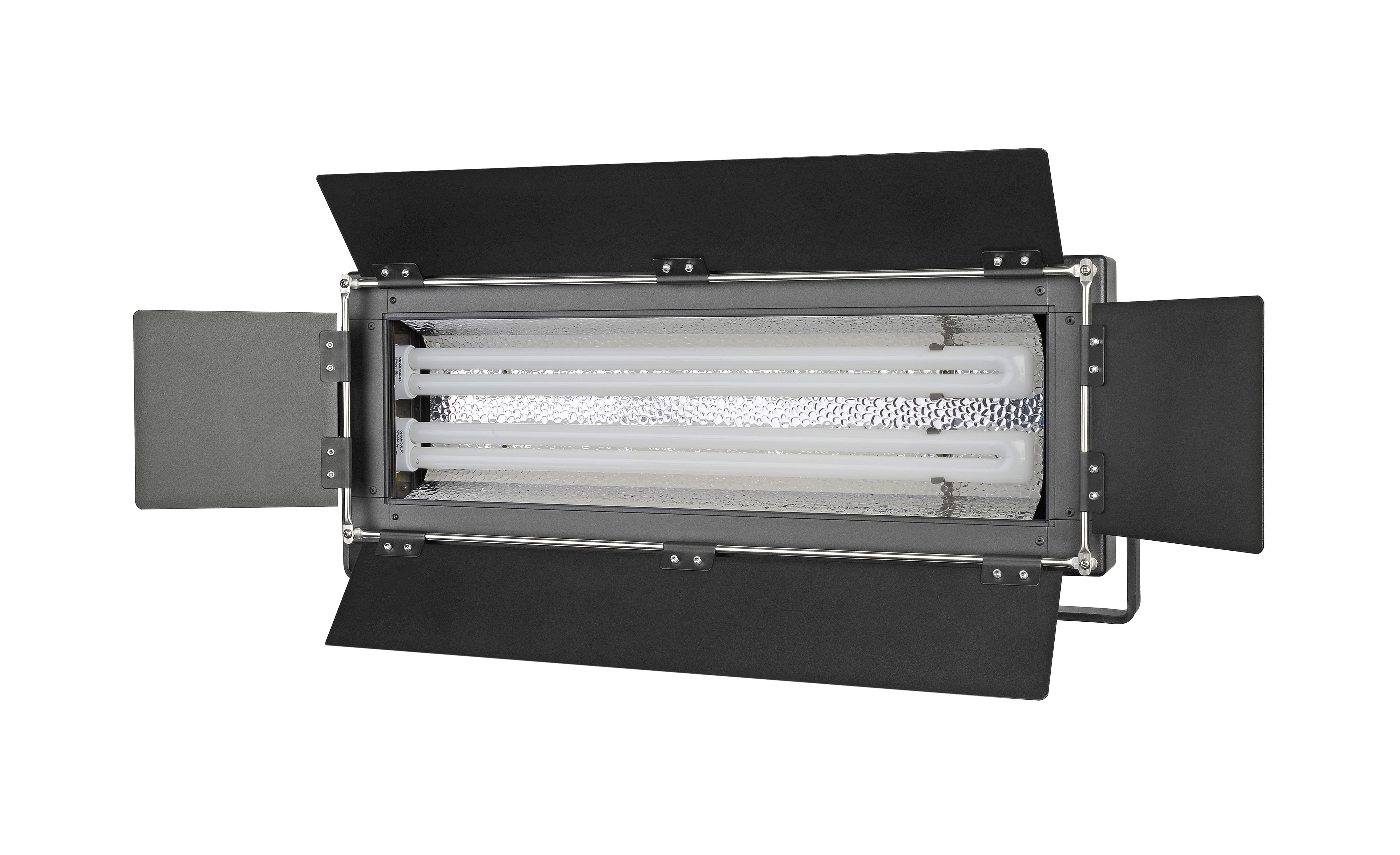 Lampada a tubi fluorescenti bresser mm 07 d 2x55w con regolatore