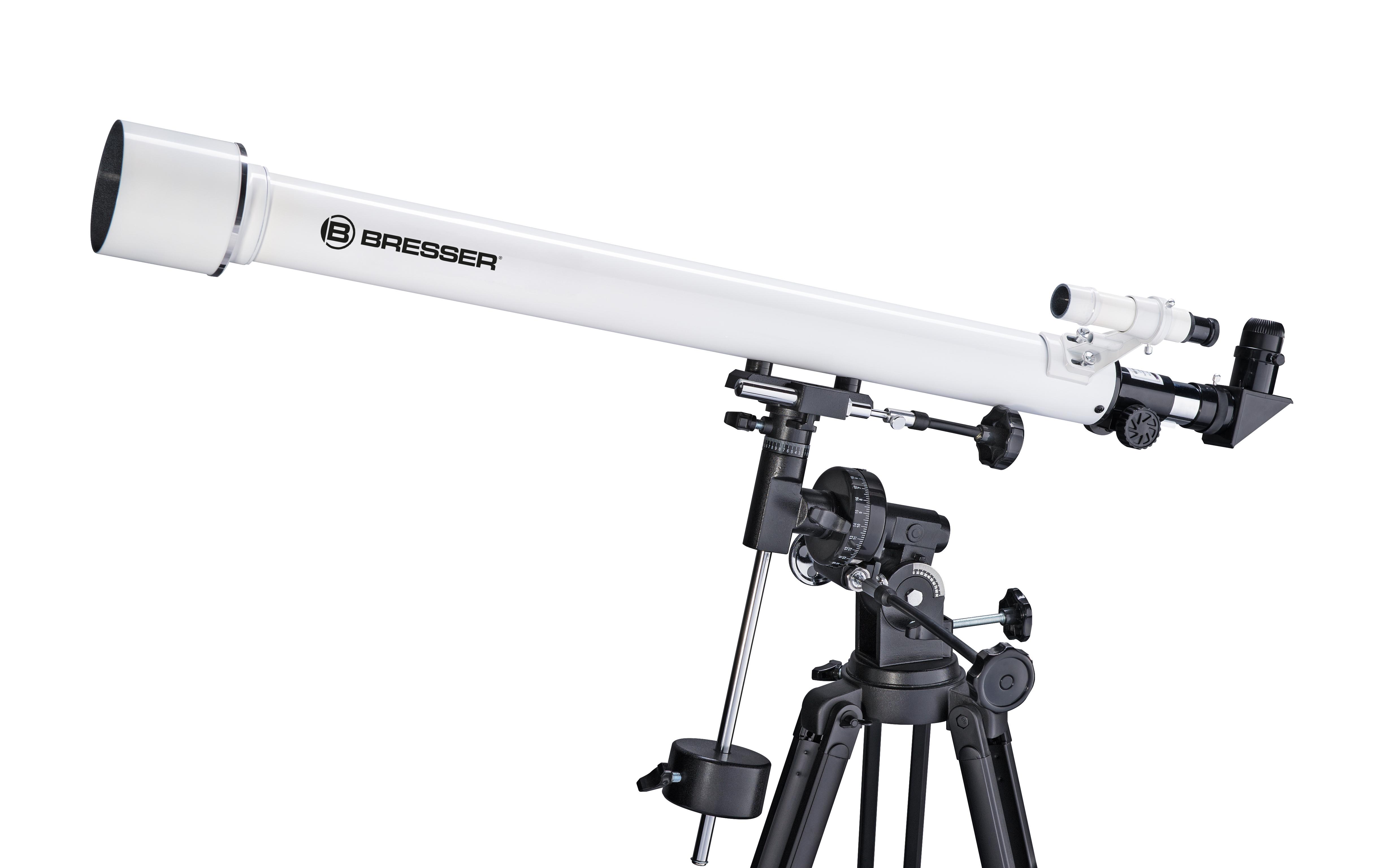 Bresser classic 60 900 eq linsenteleskop mit äquatorialer montierung