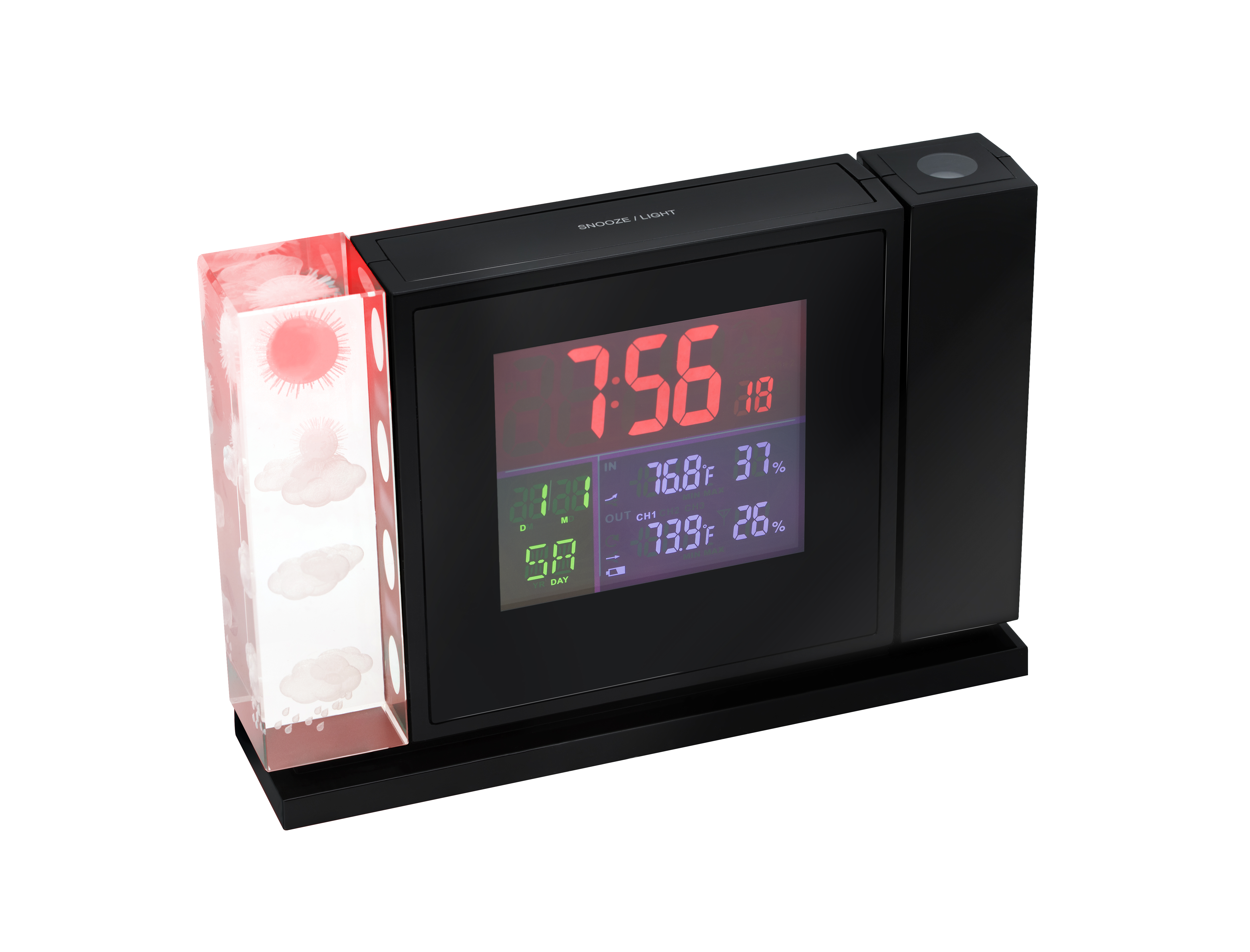Bresser mytime crystal p colour projection alarm clock and weather bresser mytime crystal p colour projection alarm clock and weather stations amipublicfo Images