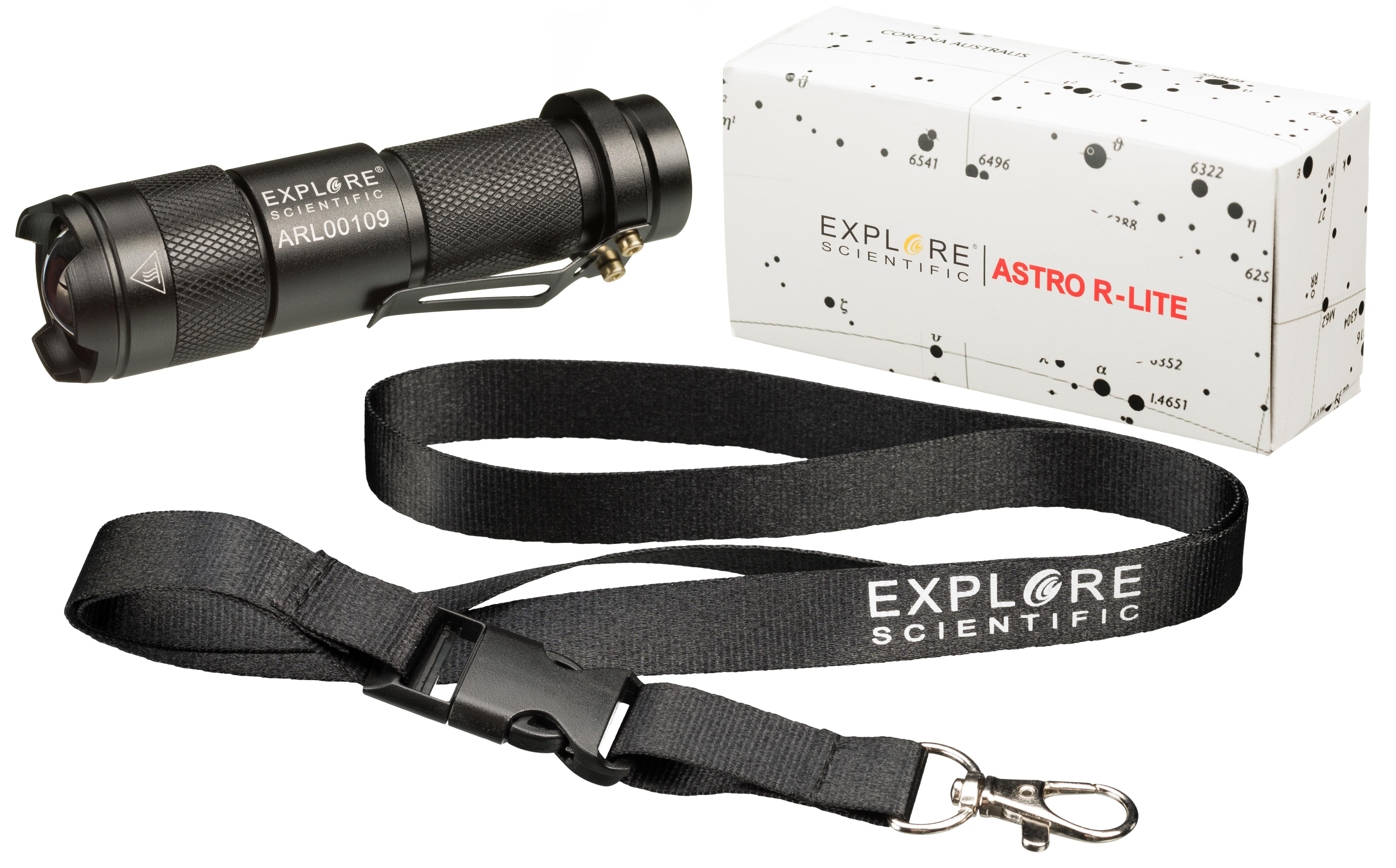 Explore scientific astro r lite rotlicht taschenlampe bresser
