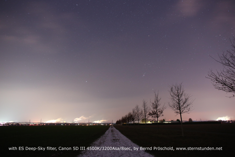 Explore Scientific Dark Sky Filter 77mm Slim Bresser