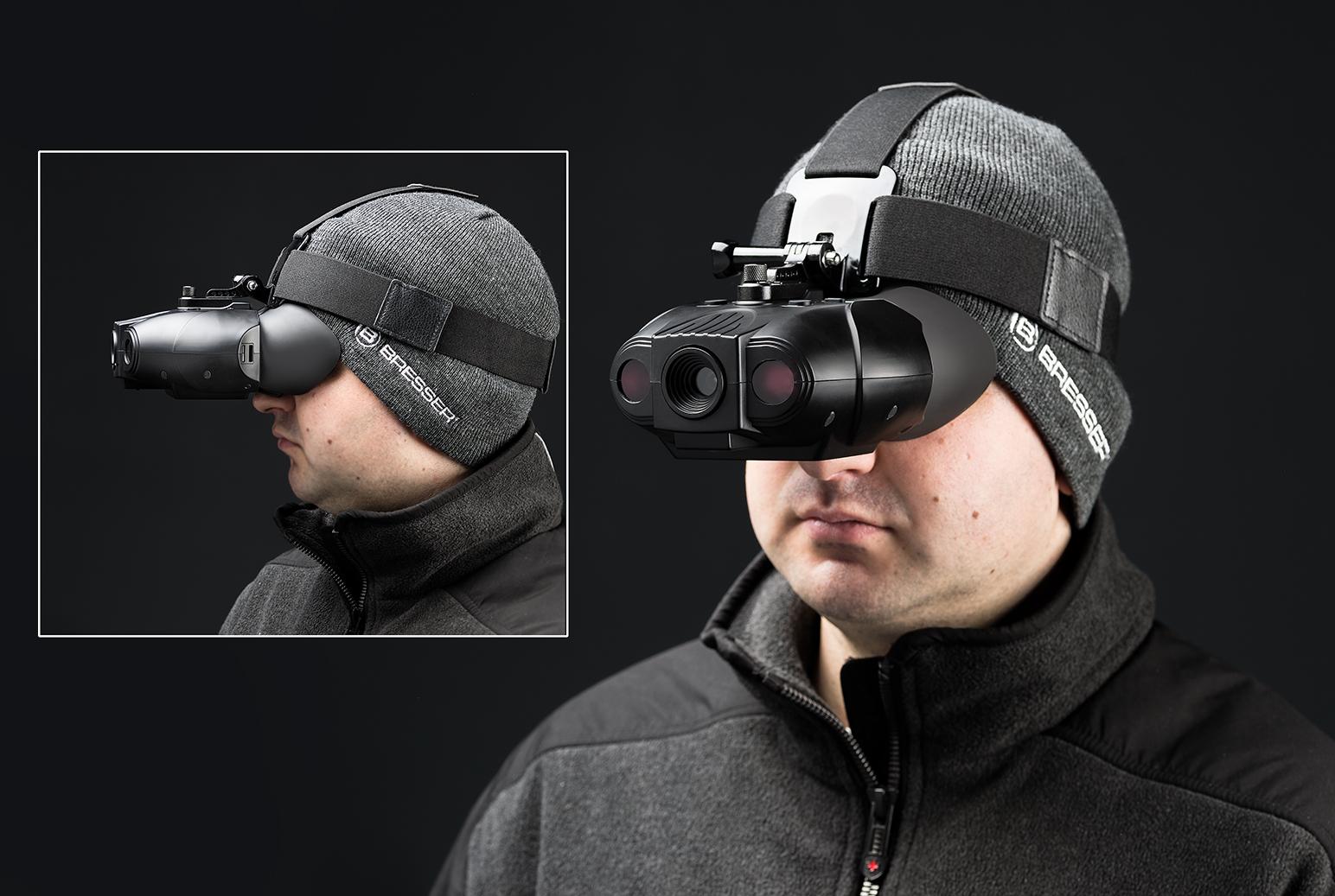 Bresser digital nv binokular mit kopfhalterung bresser