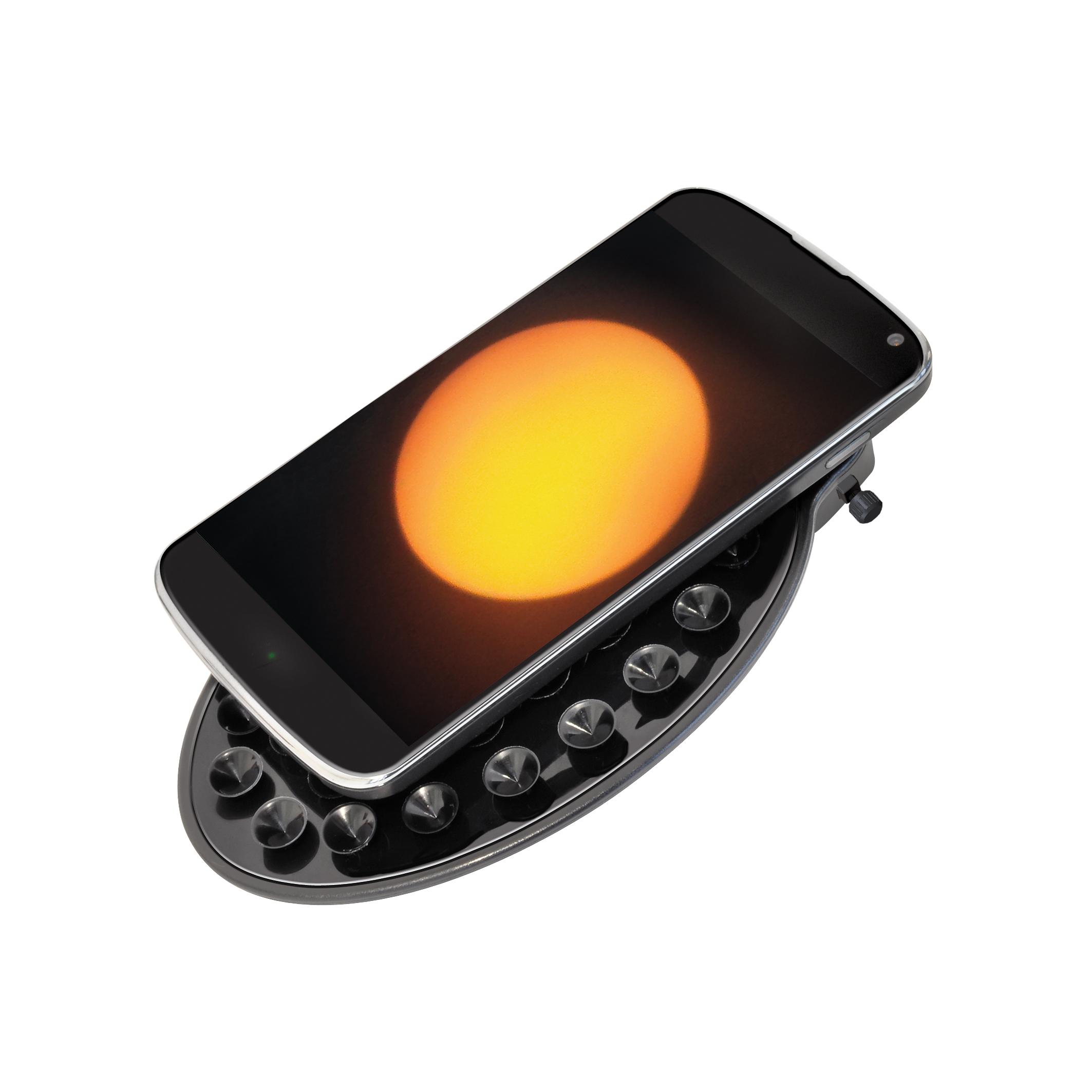 Bresser Arcturus 60//700 AZ Lunette astronomique Carbon design avec Adaptateur pour Smartphone