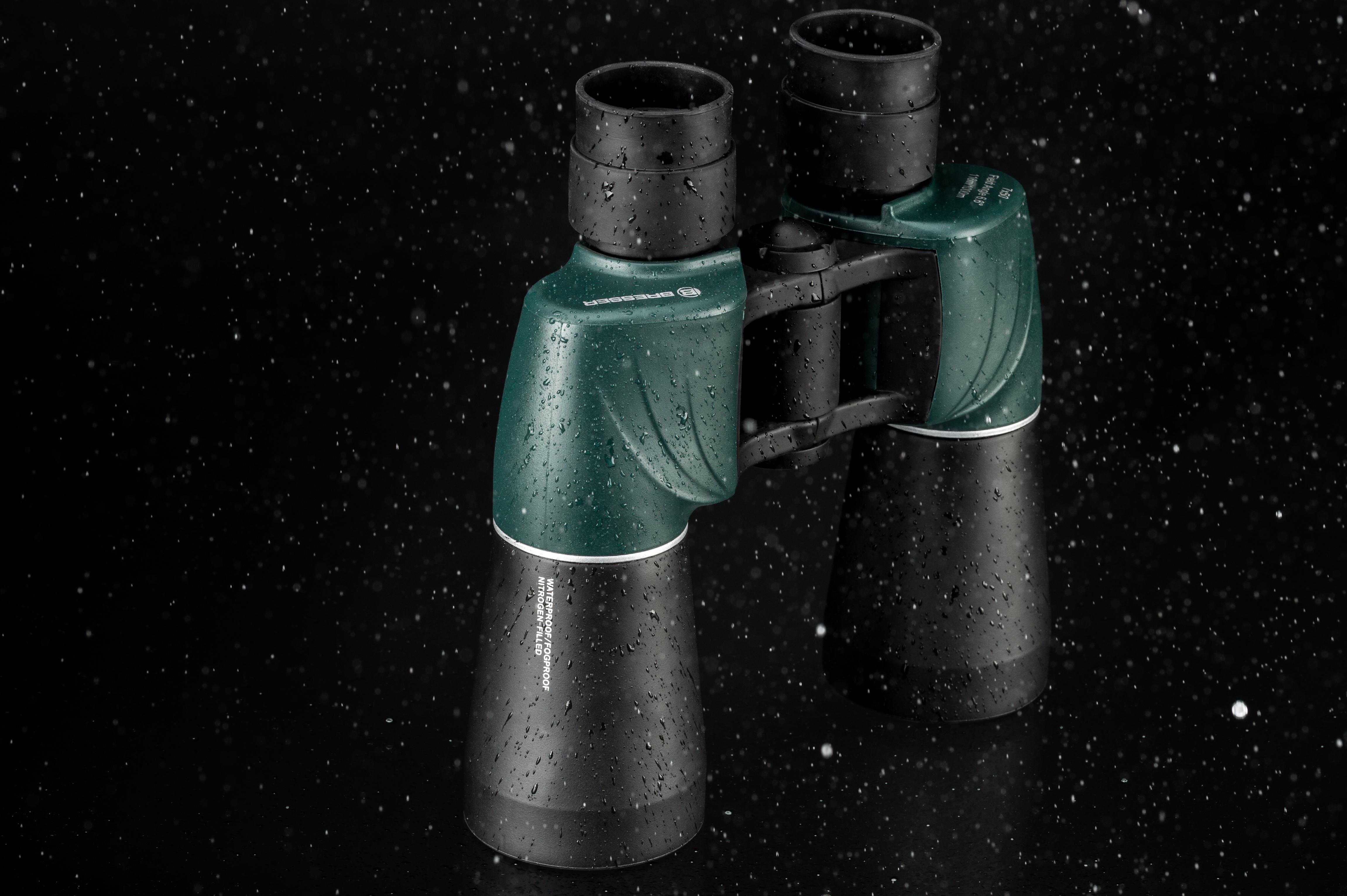 Bresser 7x50 fix fokus fernglas wasserdicht und stickstoffgefüllt
