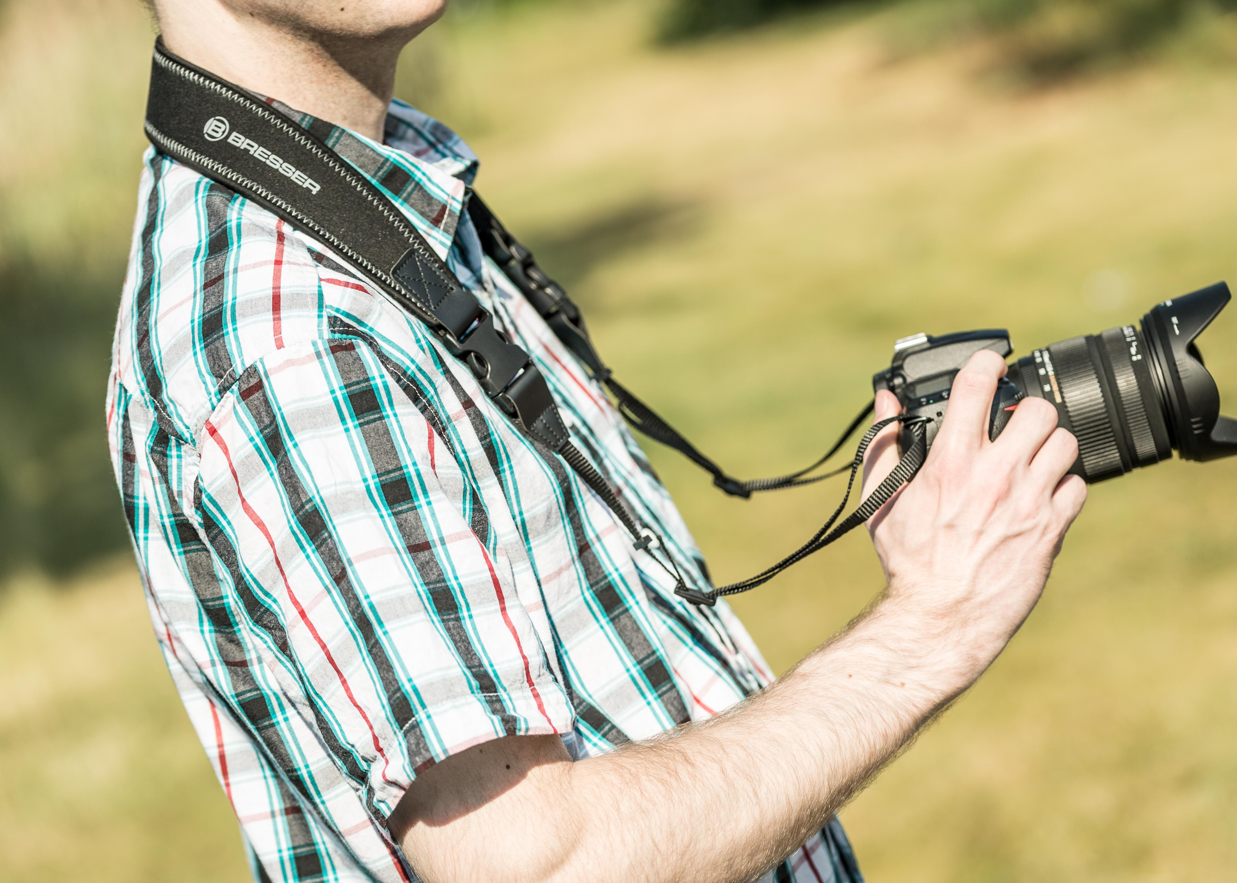 Bresser exclusive fernglas kamera trageriemen mit 6mm dicker