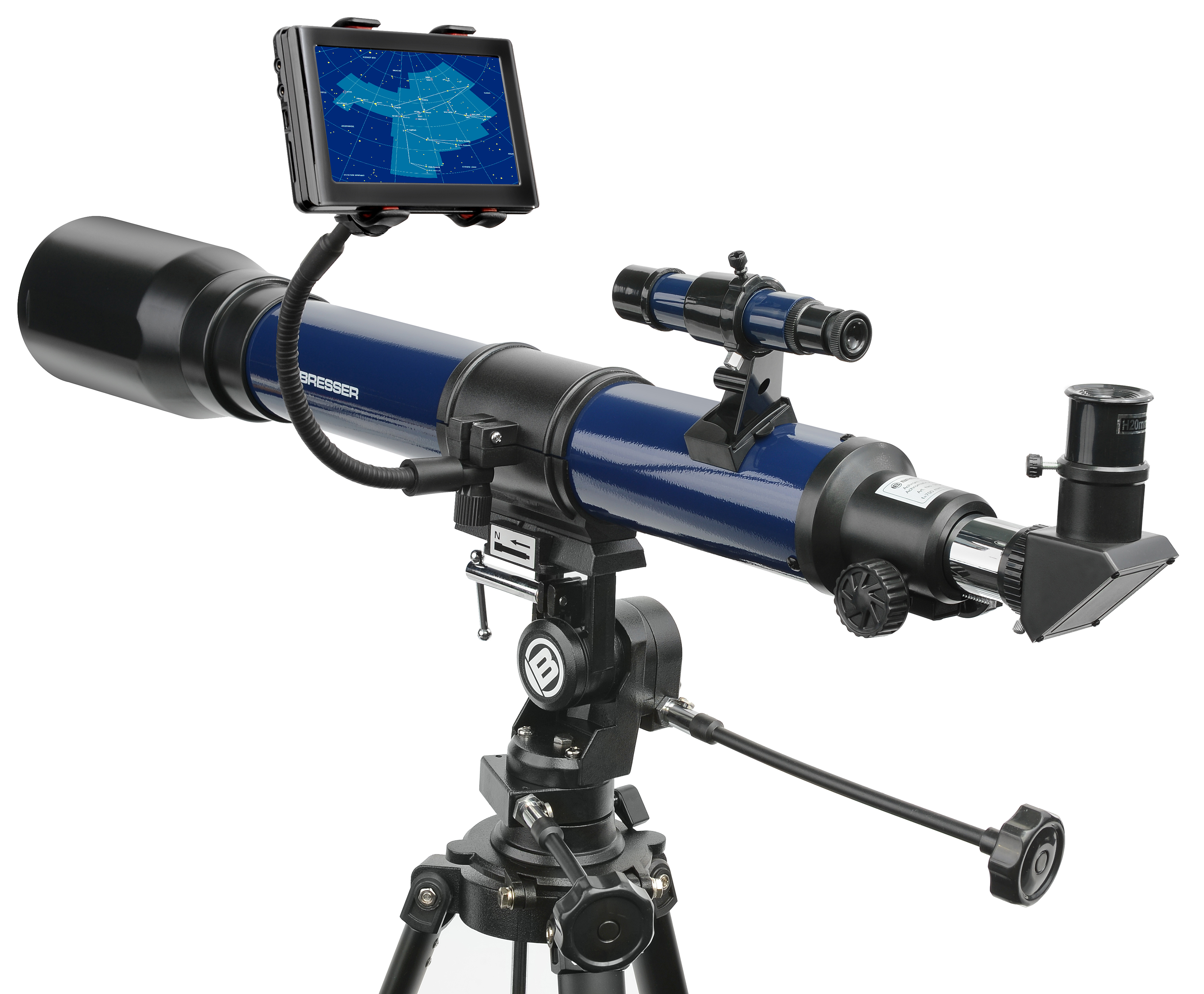 Bresser smartphone halter für fernglas teleskop bresser