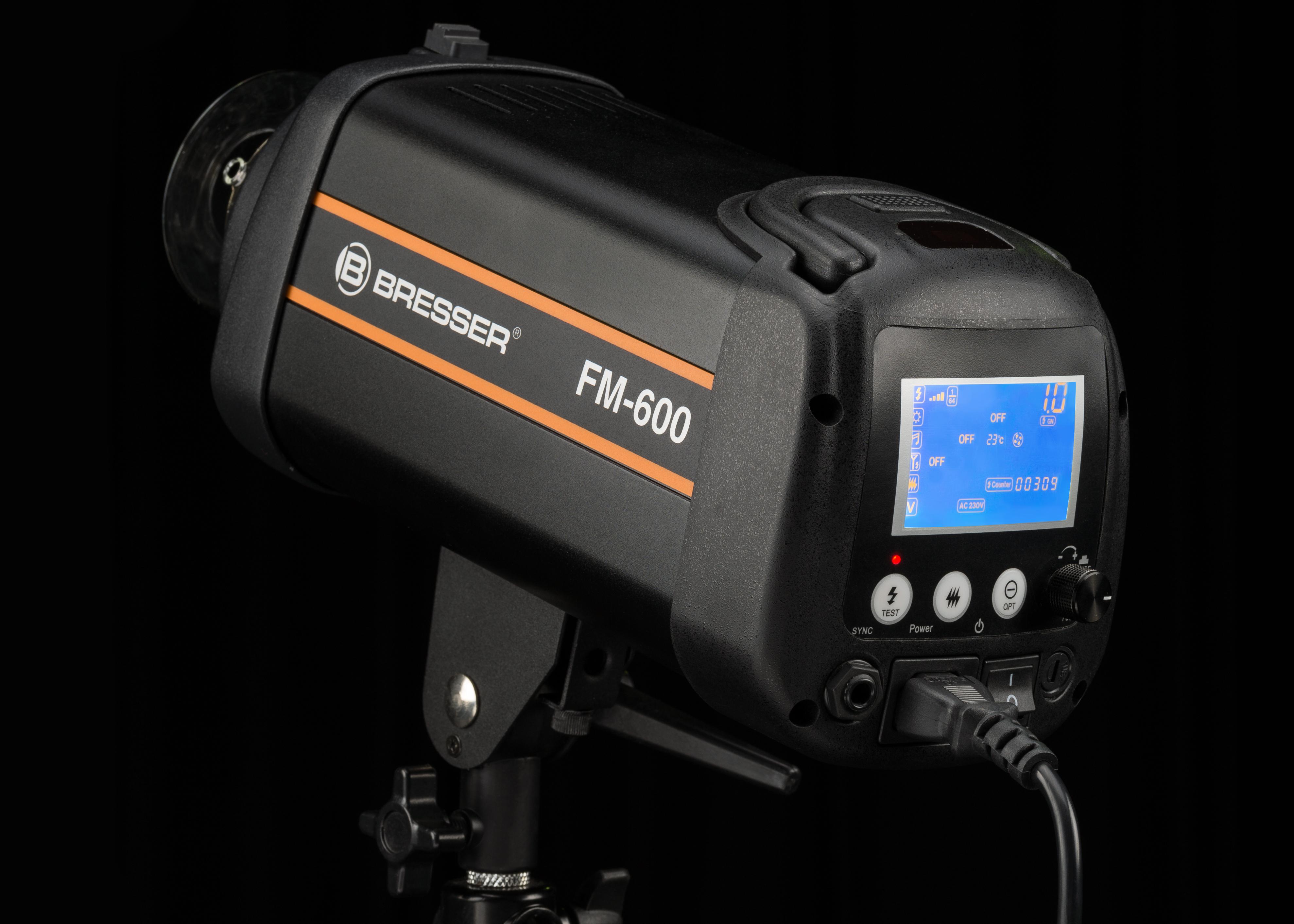 Test Bresser Entfernungsmesser : Bresser fm high speed studioblitz